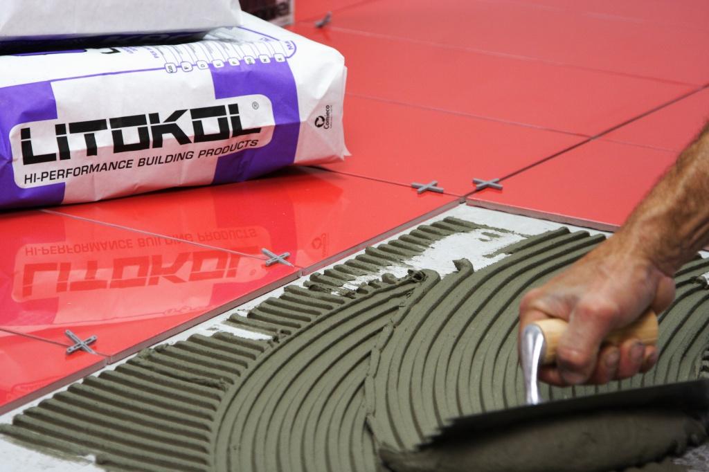 Плиточный клей LITOKOL: клеевые составы для плитки