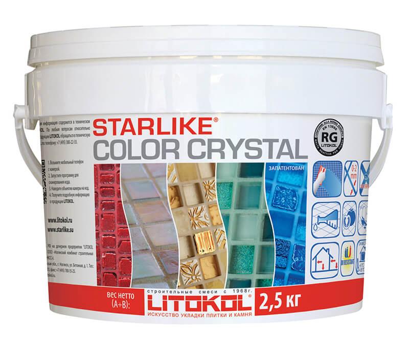 Эпоксидная затирочная смесь STARLIKE COLOR CRYSTAL - купить от  производителя LITOKOL